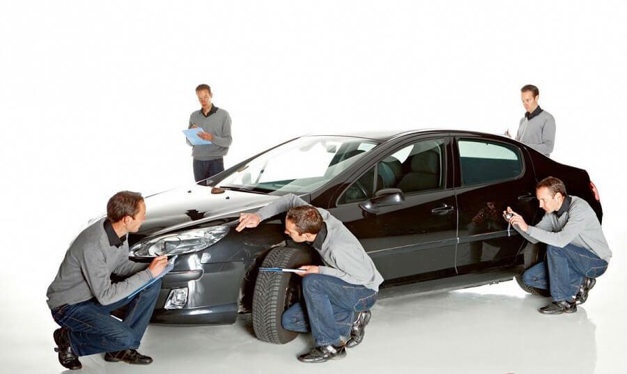 Экспертная оценка автомобиля с эптс